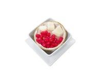 Dolce variopinto del dessert tailandese fotografia stock libera da diritti