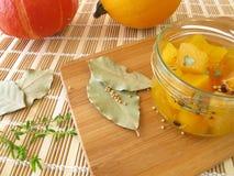 Dolce verdure acide della zucca Fotografie Stock Libere da Diritti