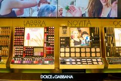 Dolce y Gabbana Imágenes de archivo libres de regalías