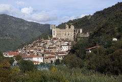 Dolceacqua. Ancient village of Italy Stock Photography