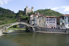 Dolceacqua. Ancient village of Italy Stock Photo