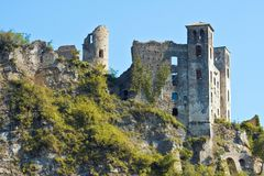 Dolceacqua Doria Castle Stock Photo