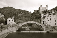 Dolceacqua, Liguria. Dolceacqua (Imperia, Liguria, Italy) is an ancient town Royalty Free Stock Image