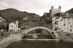 dolceacqua Ligurie Image libre de droits