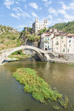 Dolceacqua Medieval Castle Royalty Free Stock Photos