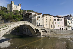 Dolceacqua, Province of Imperia, Italy Royalty Free Stock Photos