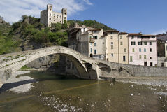 Dolceacqua, Province of Imperia, Italy royalty free stock photo