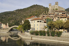 Dolceacqua village, liguria Royalty Free Stock Photography
