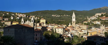 Dolcedo, a beautiful village near Imperia Stock Photography