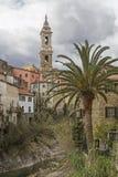 Dolcedo in Liguria Stock Image
