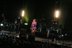 Dolcenera im Konzert stockbild