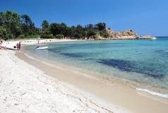 Dolcevita de plage Photos libres de droits