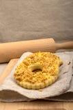 Dolci casalinghi con le arachidi schiacciate Fotografia Stock Libera da Diritti