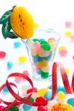 Dolci colorati del caramello, partito Fotografie Stock Libere da Diritti