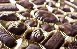 Dolci del cioccolato Fotografie Stock Libere da Diritti