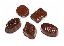 Dolci del cioccolato Fotografie Stock