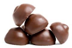 Dolci del cioccolato Fotografia Stock