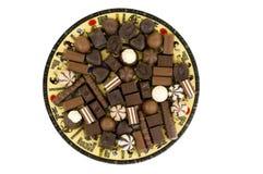 Dolci del cioccolato Immagine Stock