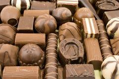 Dolci del cioccolato Immagini Stock Libere da Diritti