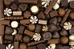 Dolci del cioccolato Fotografia Stock Libera da Diritti