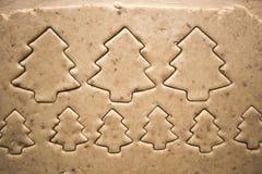 Dolci del pan di zenzero di Natale del nuovo anno immagini stock