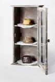 Dolci dell'anello del dessert tre Fotografie Stock Libere da Diritti