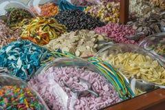 Dolci di Candy da vendere Fotografia Stock Libera da Diritti
