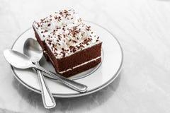 Dolci di cioccolato d'annata di stile Fotografie Stock