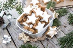 Dolci di Natale (biscotti della cannella) Immagine Stock Libera da Diritti