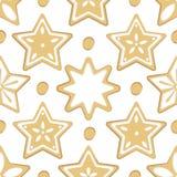 Dolci di Natale del modello royalty illustrazione gratis