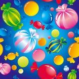 Dolci e caramelle di zucchero Fotografia Stock