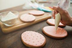 Dolci e dessert casalinghi Arte di cucina fotografia stock libera da diritti