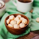 Dolci e tè del dolce fotografie stock