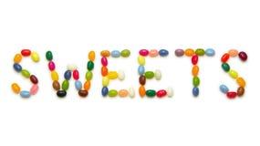 Dolci - fagioli di gelatina Fotografie Stock Libere da Diritti