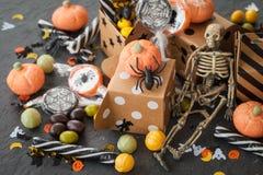 Dolci per Halloween Immagini Stock Libere da Diritti
