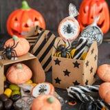 Dolci per Halloween Fotografia Stock Libera da Diritti