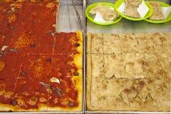 Dolci salati la Liguria occidentali Immagine Stock