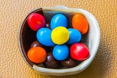 Dolci variopinti del cioccolato immagini stock libere da diritti