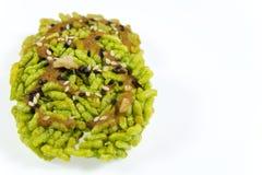 Dolciumi fatti di riso appiccicoso cotto a vapore Immagini Stock Libere da Diritti
