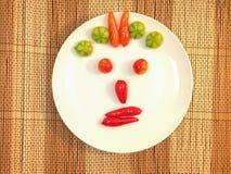 Dolciumi, frutti d'imitazione deletable (sguardo Choup di Kanom in tailandese) Fotografia Stock