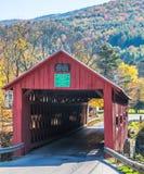 Dold bro i New England Fotografering för Bildbyråer