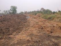 Dold lagun för Biogas Royaltyfri Foto