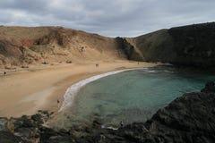 dold strand Arkivfoton