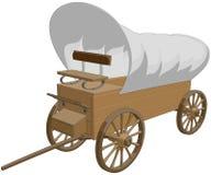 Dold vagn royaltyfri illustrationer