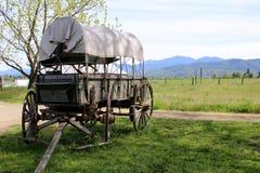 Dold vagn Arkivbild