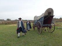 Dold Vagn-slinga av historia Royaltyfria Foton