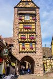 The Dolder Tower in Riquewihr Royalty Free Stock Photography