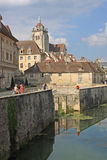 Dole, Frankreich Stockfoto