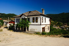 Dolen village. Little tourist village in the bulgarian mountains Royalty Free Stock Images