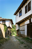 Dolen village. Little tourist village in the bulgarian mountains Royalty Free Stock Photography